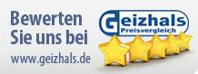 Bewerten Sie uns auch bei www.geizhals.de