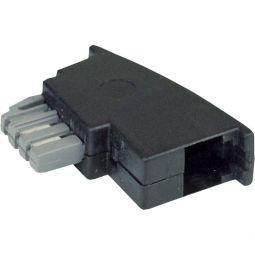 InLine TAE-N Adapter, TAE-N Stecker auf RJ11 Buchse
