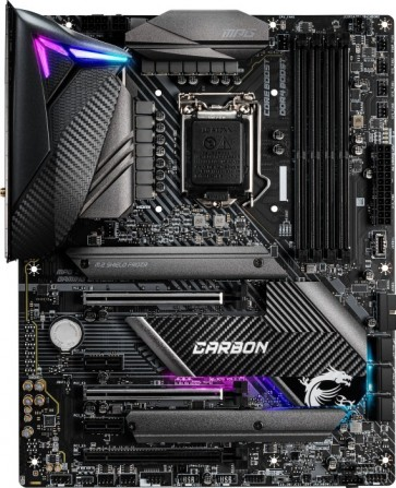 MSI Mainboard MPG Z490 Gaming Pro Carbon Wifi