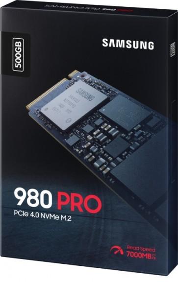 Samsung 980 Pro SSD M.2 500GB, PCIe