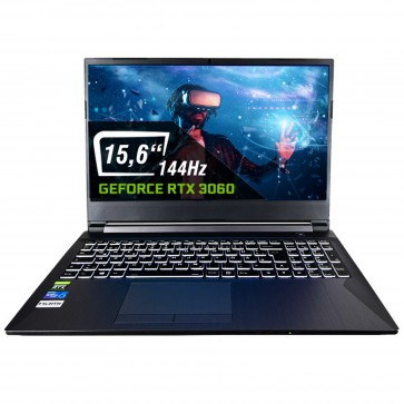 dcl24.de Gaming Notebook mit Intel Core i7-10750H, RTX3060 [13940]