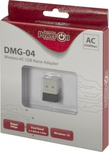 Inter-Tech WLAN USB 650Mbps DMG-04