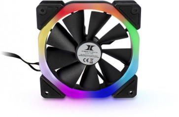 Inter-Tech Fan 120mm LED RGB F-39 Zusatzlüfter für Inter-Tech S-3901 Impulse