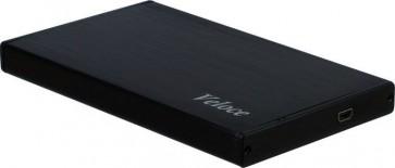 Veloce HDD Gehäuse 2,5 Zoll, USB 3.0, schwarz