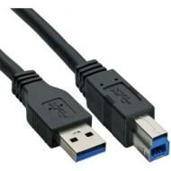 InLine USB 3.0 Kabel, A an B, 3m