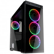 Kolink Horizon Midi Tower RGB, Lüfter LED, mit Glasfenster