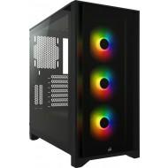 Corsair Gehäuse iCue 4000X RGB schwarz