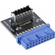 InLine Adapter USB 3.0 auf 3.1 intern