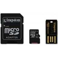 64GB micro SDHC, Kingston class10 mit Adapter