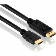 Kabel DisplayPort St. > HDMI St. 3m