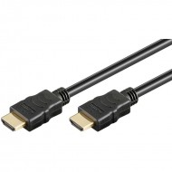 HDMI Kabel, HDMI-High Speed mit Ethernet, 3m