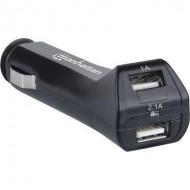 Manhattan Car Adapter 12V 2x USB