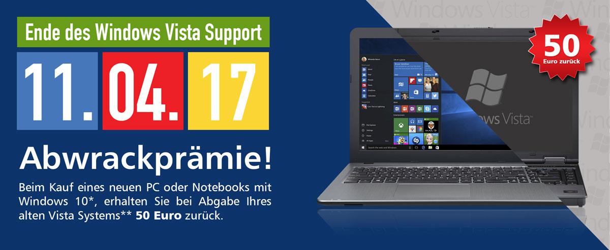 Windows Vista Abwrackprämie